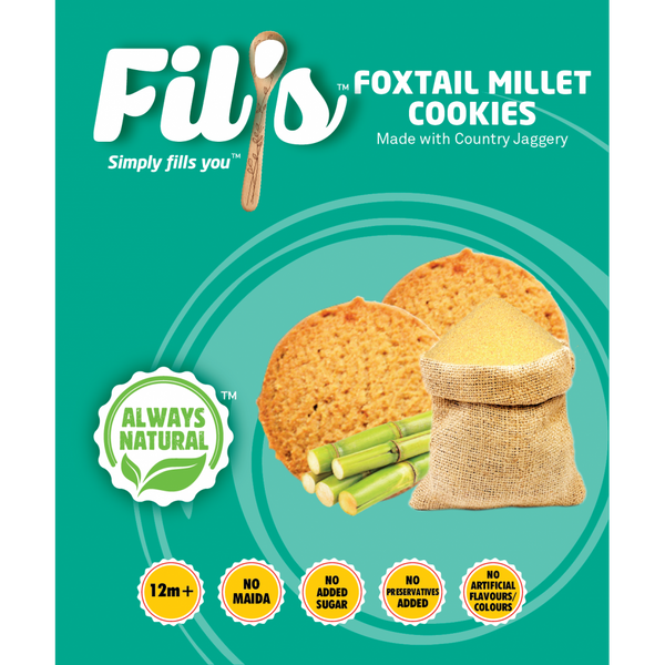 Fils Foxtail Millet Cookies | Baby Food & Snacks