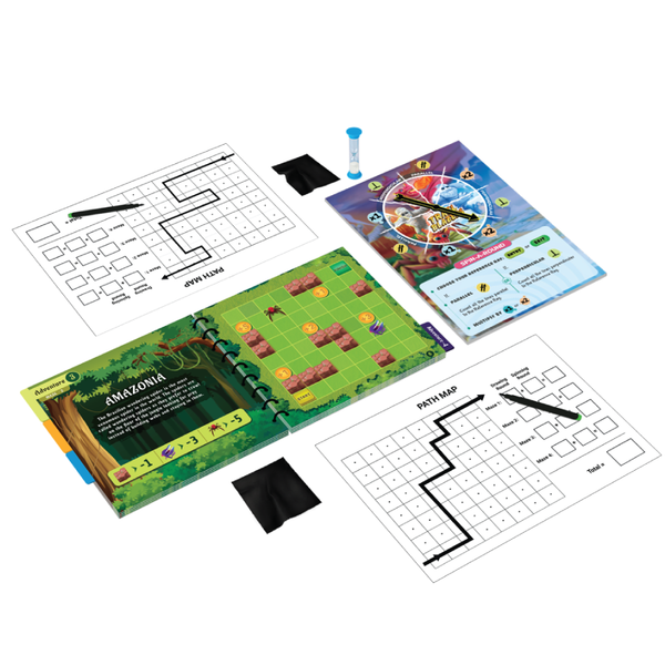 Trail Blazers: A Memory + Strategy Board Game - Game & Toys - Age 9+ Years