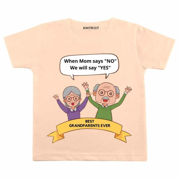 When Mom say's NO we will say YES | Personalised Tshirt