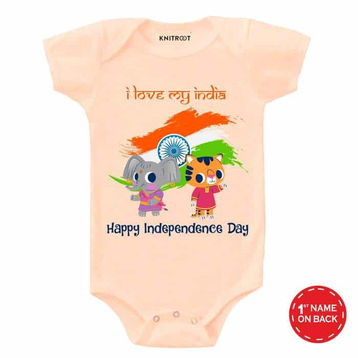 Independence Day - Elly 2 | Personalised Baby Onesie