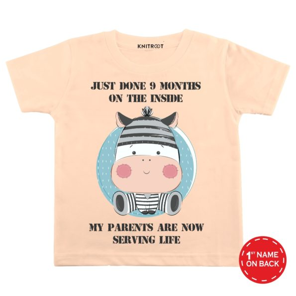 Just Done 9 Months on the Inside-36 | Personalised Tshirt