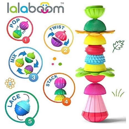 Lalaboom 12 Pcs set | Educational & Learning | Age - 6 Months +