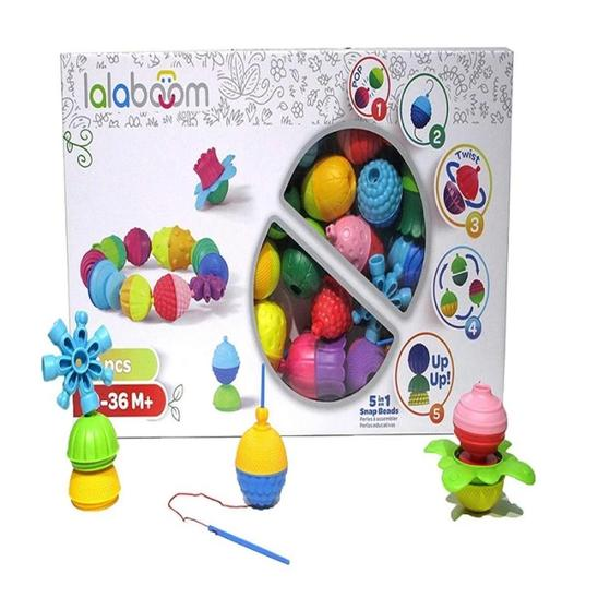Lalaboom 36 Pcs set | Educational & Learning | Age - 10 Months +