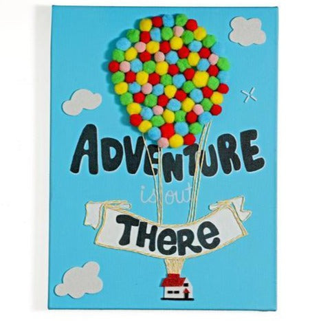 Adventure is out there - Canvas Painting | Decor