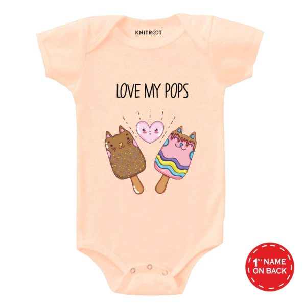 I love daddy | Personalised Baby Onesie