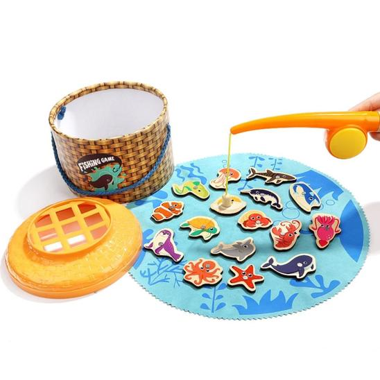 Magnetic Fishing Game - Age -2+ Years