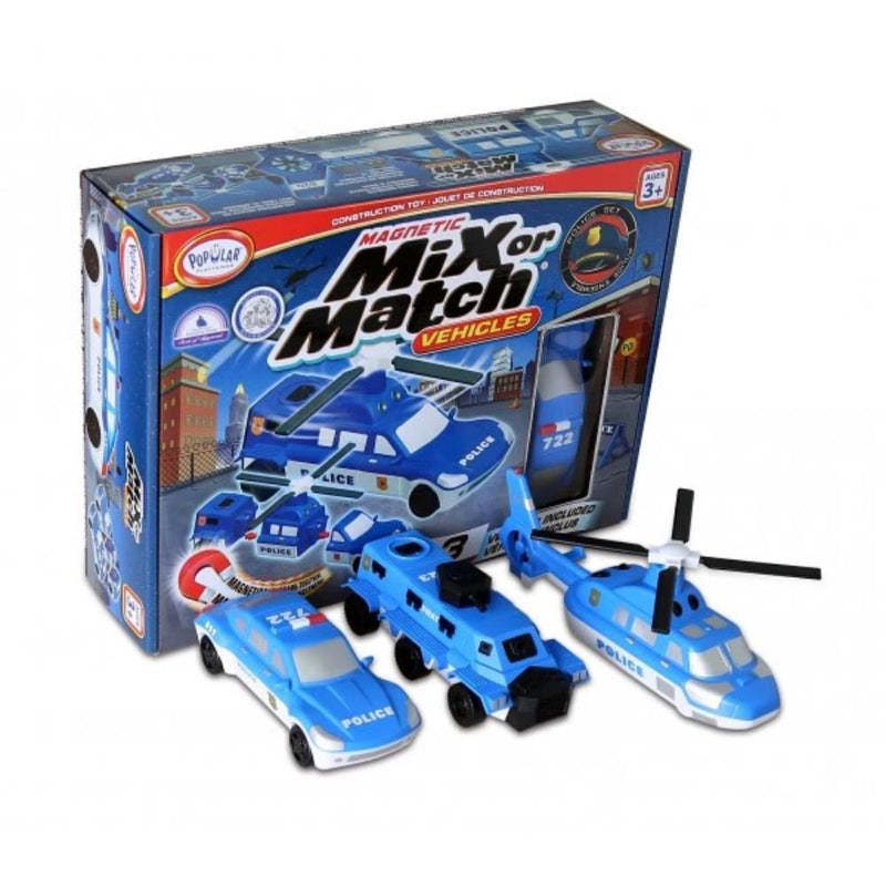 Mix or Match Vehicles Police | Vehicle Toys | Age 3 Years+