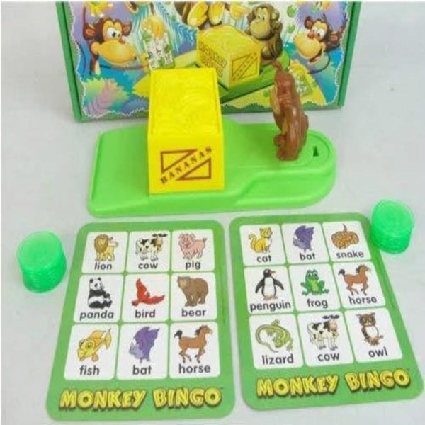 Monkey Bingo | Age 4 Years+