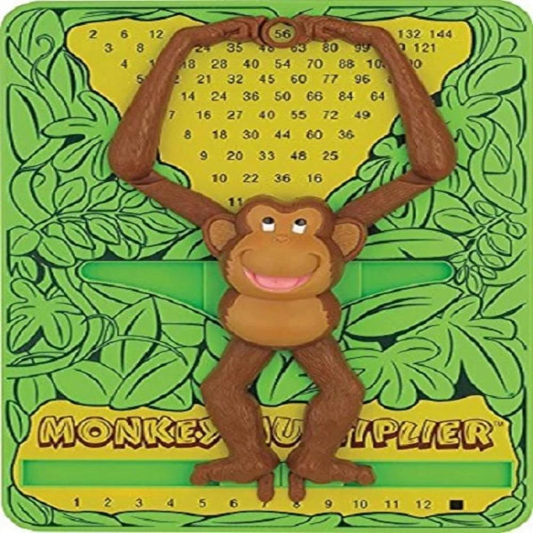 Monkey Multiplier | Preschoolers Age 4 Years+