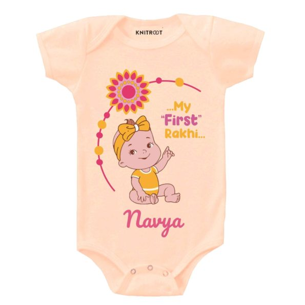 My First Rakhi | Personalised Baby Onesie