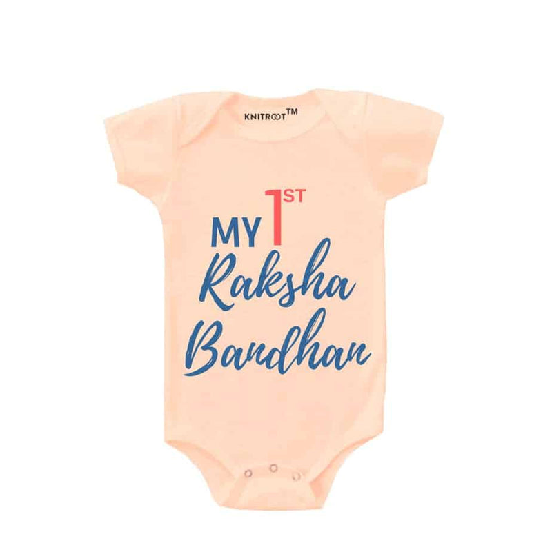 My First Raksha Bandhan 2 | Personalised Baby Onesie