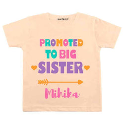 Promoted to big sister | Personalised Tshirt