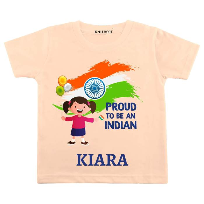 """Proud To Be Indian"" Girl Outift 