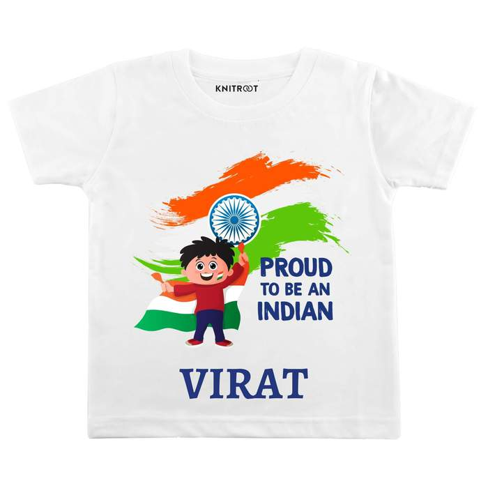 I Am Proud To Be An Indian | Personalised Tshirt