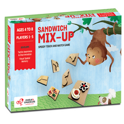 Sandwich Mix Up | Puzzles & Games | Age 4 Years+