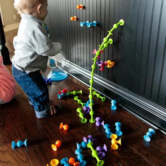 Squigz- Deluxe Set - Educational & Learning - Age - 18 Months+
