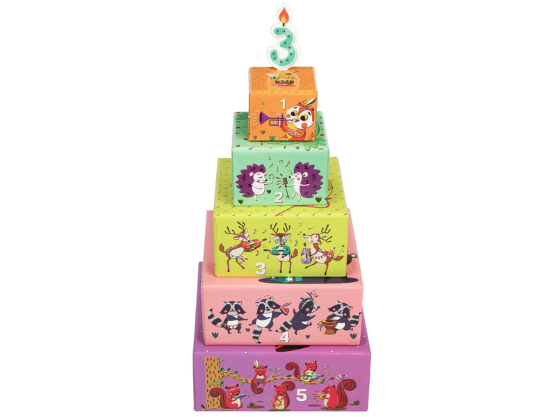 Stack a Cake | Puzzles & Games | Age 2 Years+
