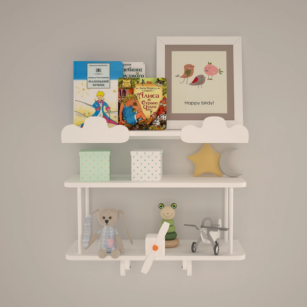 Joy of Flying Shelves | Kids Furniture