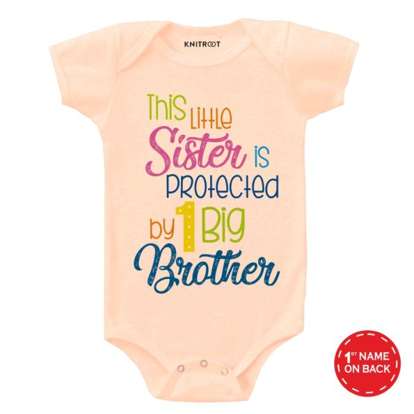 Big Brother 5 - Personalised Baby Onesie