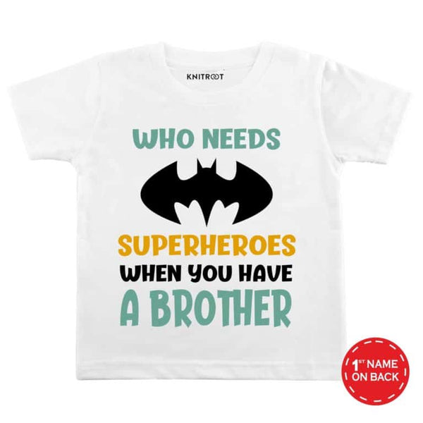 Superheroes | Personalised Tshirt