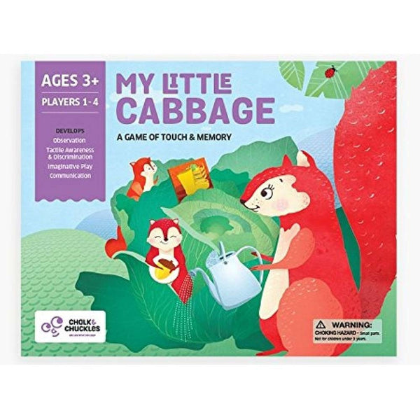 My Little Cabbage - Puzzles & Games - Age 3 Years+