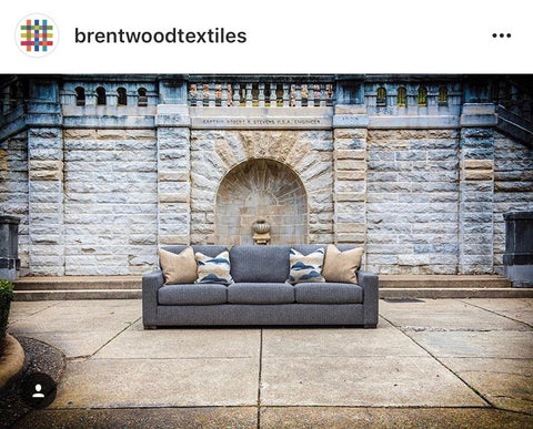 brentwood textiles on furniture