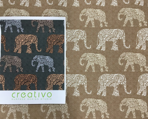 more elephant designs at brentwood textiles