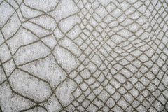 Fishnet Pewter Floor cloth brentwood textiles