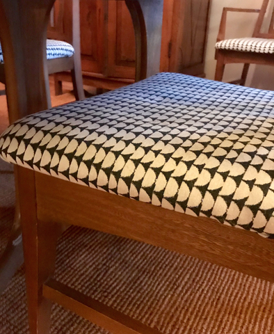 Brentwood Textiles Geometric on chair