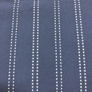 Stitch - Outdoor Performance Fabric - yard / Navy - Revolution Upholstery Fabric