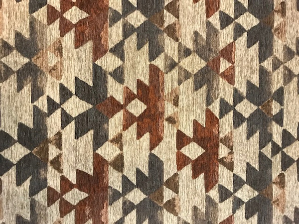 Azteca Clay - a Brentwood Textiles Floor Cloth