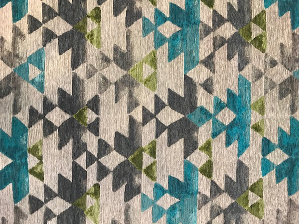 Azteca Glass - a Brentwood Textiles Floor Cloth