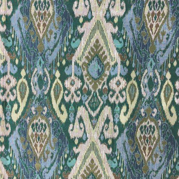 Ikat upholstery fabric