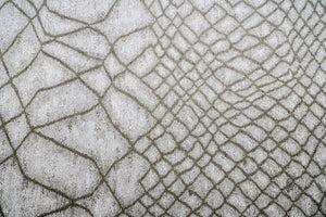 Fishnet Pewter Brentwood Textiles Floor Cloth