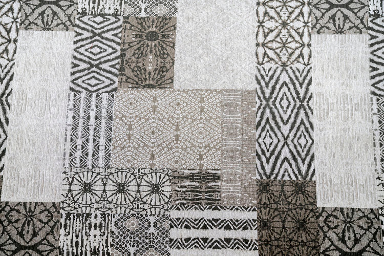 Mishmash Pewter Brentwood Textiles Floor Cloths