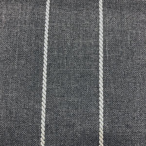 Pencil - Performance Outdoor Fabric - Yard / pencil-carbon - Revolution Upholstery Fabric