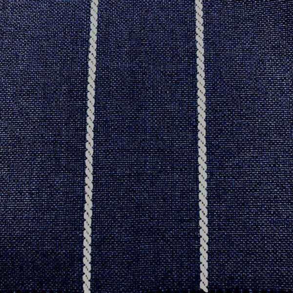 Pencil - Performance Outdoor Fabric - Yard / pencil-indigo - Revolution Upholstery Fabric