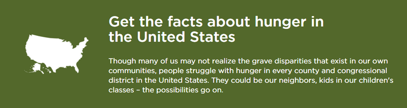 Facts about Hunger in the United States