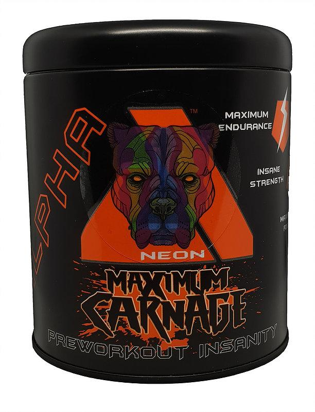 Alpha Neon Maximum Carnage WAS £29.99 NOW £24.99 - Reload Supplements