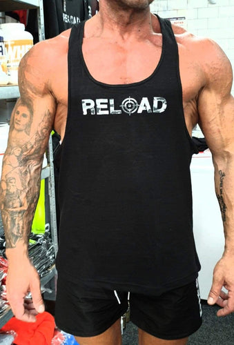 'Arctic Camo' Reload Stringer Vest WAS £12.50 NOW £7.50