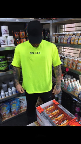 Reload Signature Oversized T-Shirt - Reload Supplements