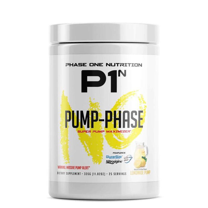 Phase One Nutrition Pump - Phase