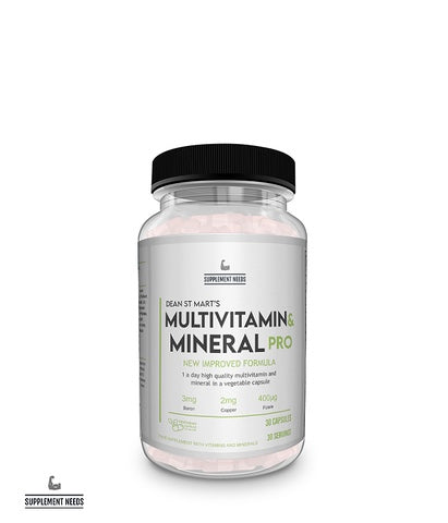 Supplement Needs Multi Vitamin & Mineral PRO 30 Caps