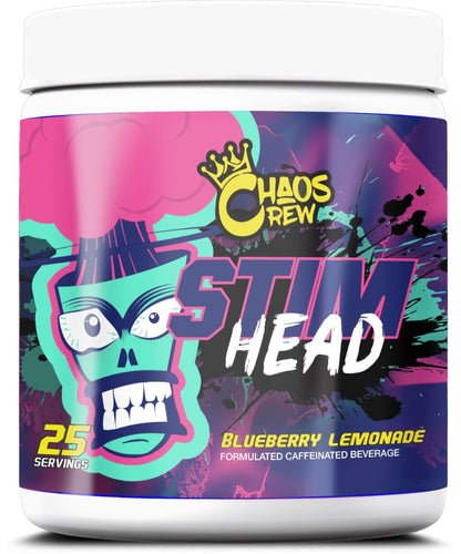 Chaos Crew Stim Head Pre Workout - Reload Supplements