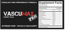 Load image into Gallery viewer, Strom Vascumax - Reload Supplements
