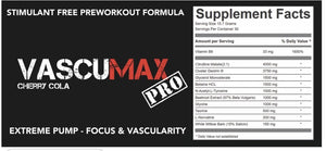 Strom Vascumax - Reload Supplements