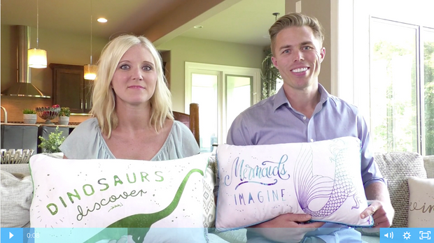 Entrepreneurial Experience for Kids: Design Your Own Pillow (Online Course)