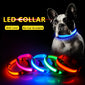 Glowing LED Dog Collar Light