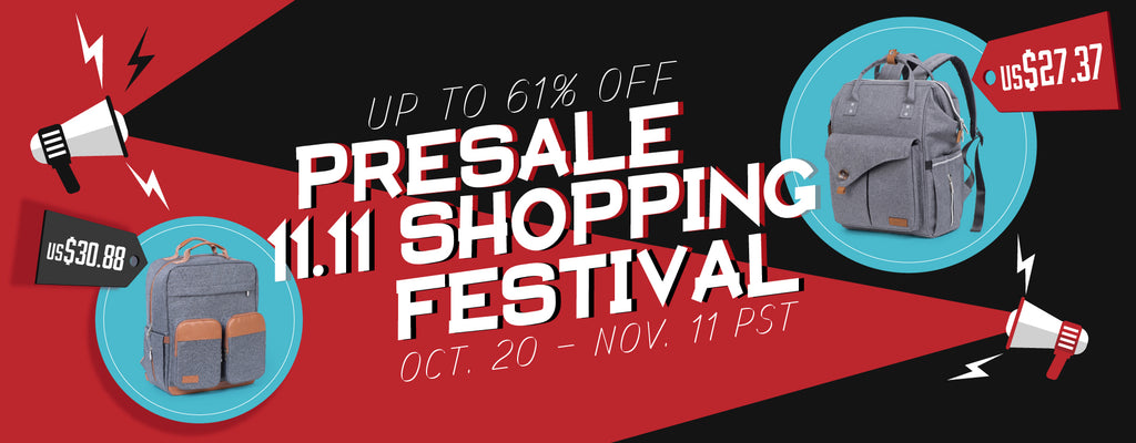 PRESALE PROMOTION for 11.11th Shopping Festival
