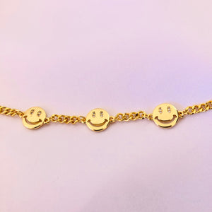 Happy Face Bracelet